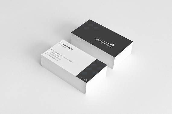 Professional Business Card Printable Business Card Template