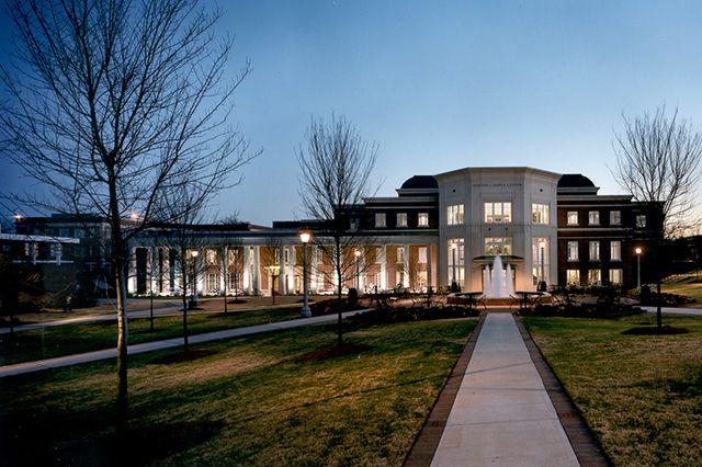 Birmingham Southern College Norton Campus Center Live Design Group