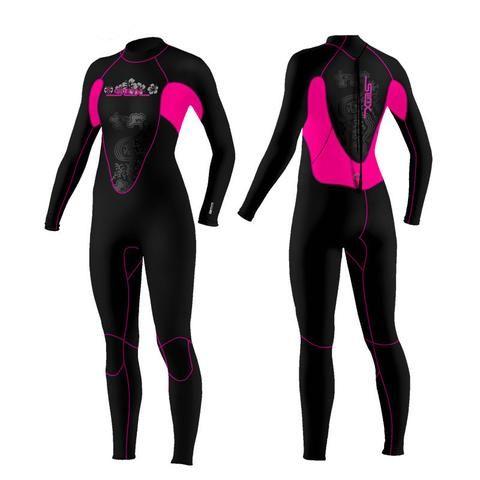 Women s Scuba Diving Surfing Snorkeling Neoprene Swimwear Wetsuit ... a6b1bf86450