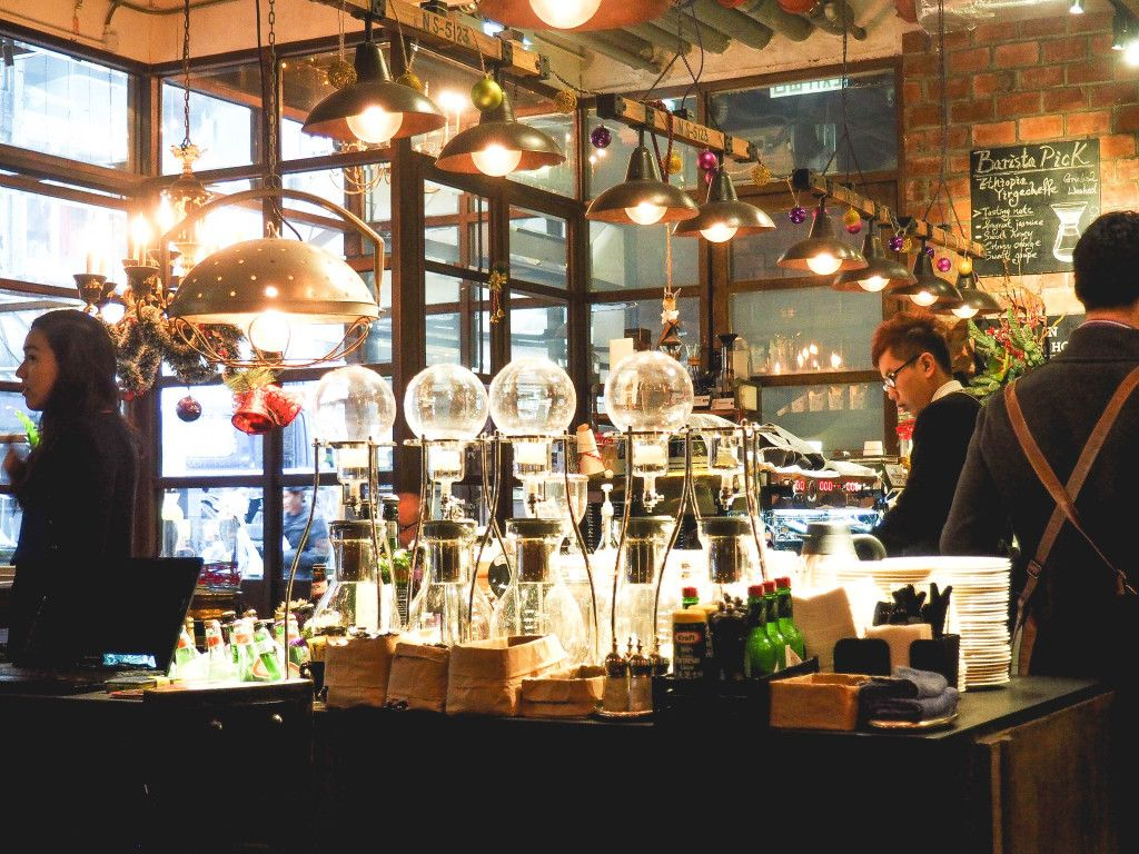 The Best Cafe In Hong Kong Is Quite The Laboratory Cool Cafe Coffee Shop Hong Kong
