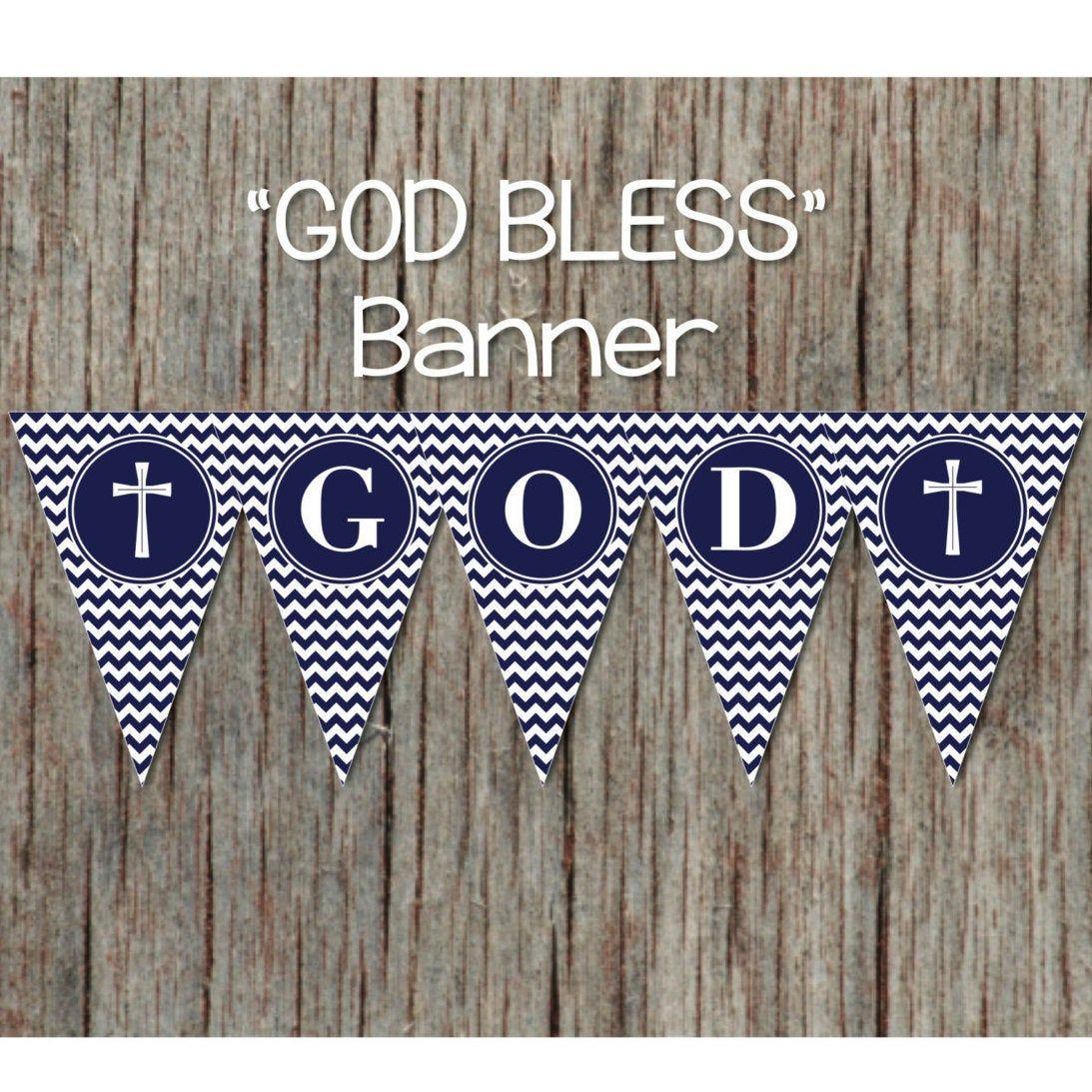 30+ Free printable god bless banner ideas