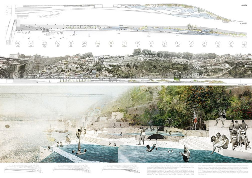 For the Portuguese city of Porto, maintaining its historical connection with the Duoro River is essential as tourism in the city gradually increases. CTRL+SPACE organized the PORTO Pool ...
