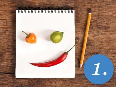 1200 Kalorien Diät für Vegetarier - 1. Tag: Rezepte für Frühstück: Ballaststoff-Müsli, Mittagessen: Rohkostteller, Abendessen: Rotkrautsalat und 2 Zwischenmahlzeiten ...