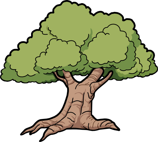 oak tree clip art tree oak scalable vector graphics svg clip art rh pinterest com au dead oak tree clipart oak tree clipart silhouette