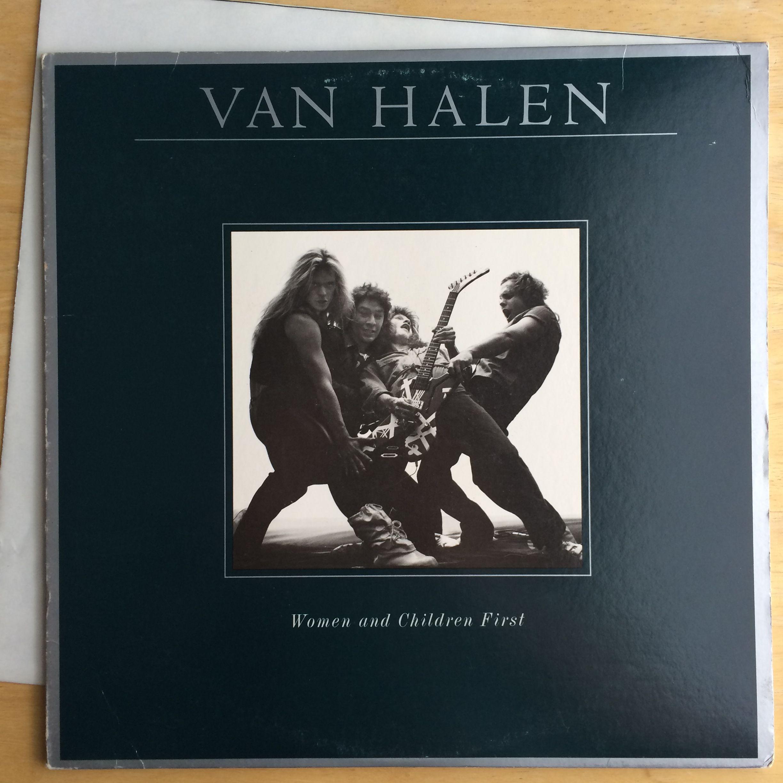 Van Halen Woman And Children First w/ Poster Van halen