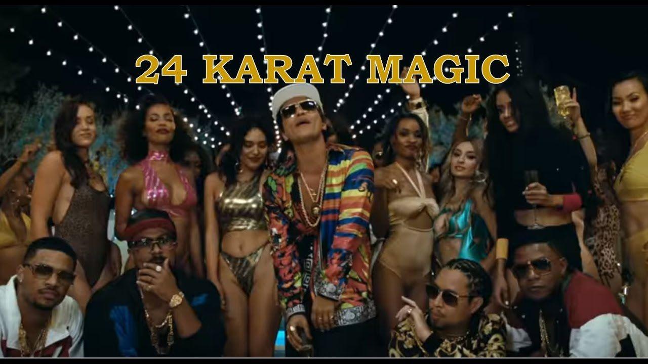 Bruno Mars - 24K Magic (24 Karat Magic Lyrics)