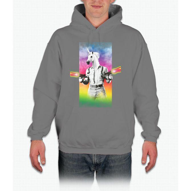 Badass-unicorn Unicorn Hoodie