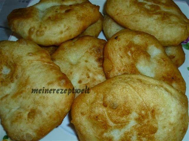 Meine Rezeptwelt: Frittierter Hefeteig- Mayali hamurdan pisi