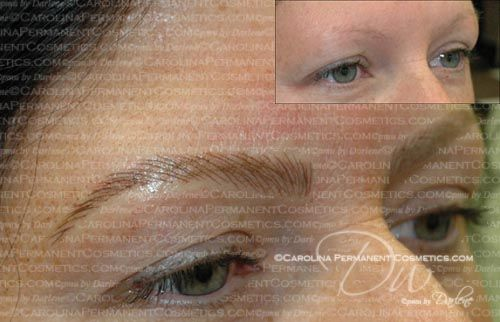 704-796-8221 Permanent eyebrows tattooed on and ...