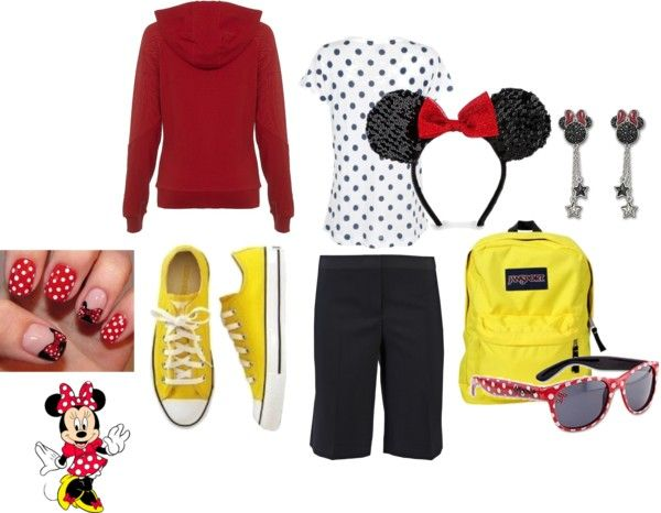 My Minnie Mouse Outfit, created by naenaejane on Polyvore