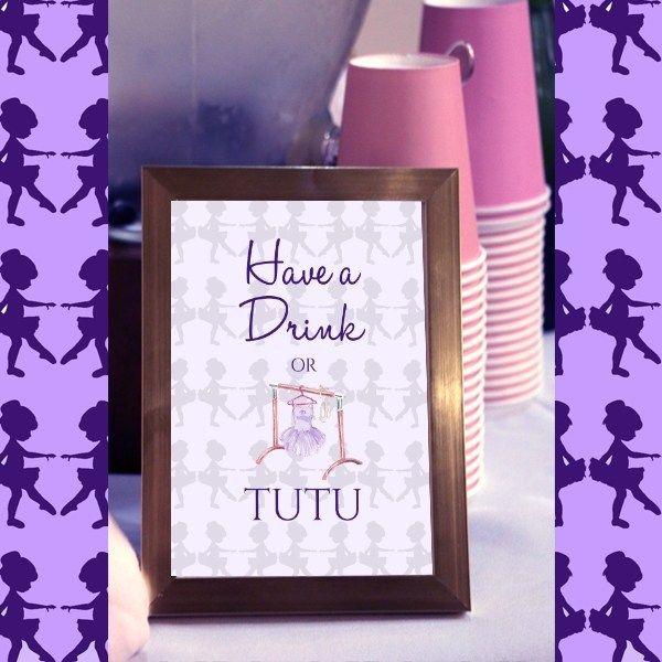 Purple Ballerina Party