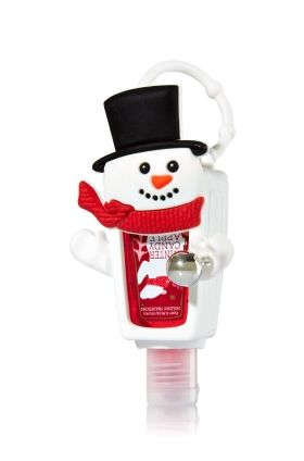 Pocketbac Holder Snowman Bath Body Works Bath Body Bath
