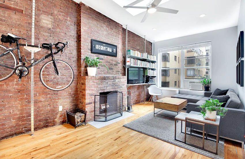 Living Room Flooring Ideas (Top Interior Designs) | Brick ...