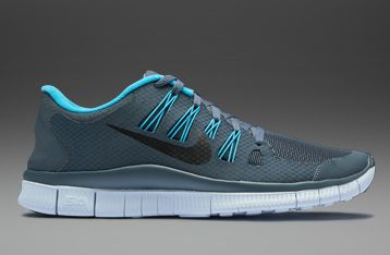 sale retailer db824 e8d0b Nike Free 5.0+ Shield - Mens Running Shoes - Dark Armory Blue-Black-Gamma  Blue-Blue Tint UK 9  pdrmostwanted