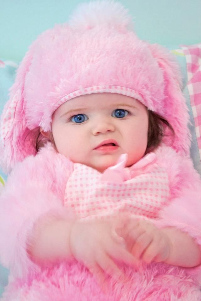 Eva pink baby bunny :)