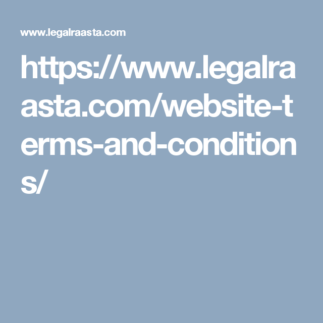 Get Website Terms And Conditions Format Online In Less