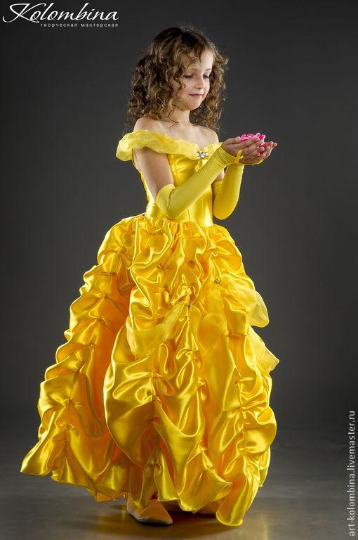 Купить Костюм Белль - жёлтый, белль, карнавальный костюм ... - photo#36