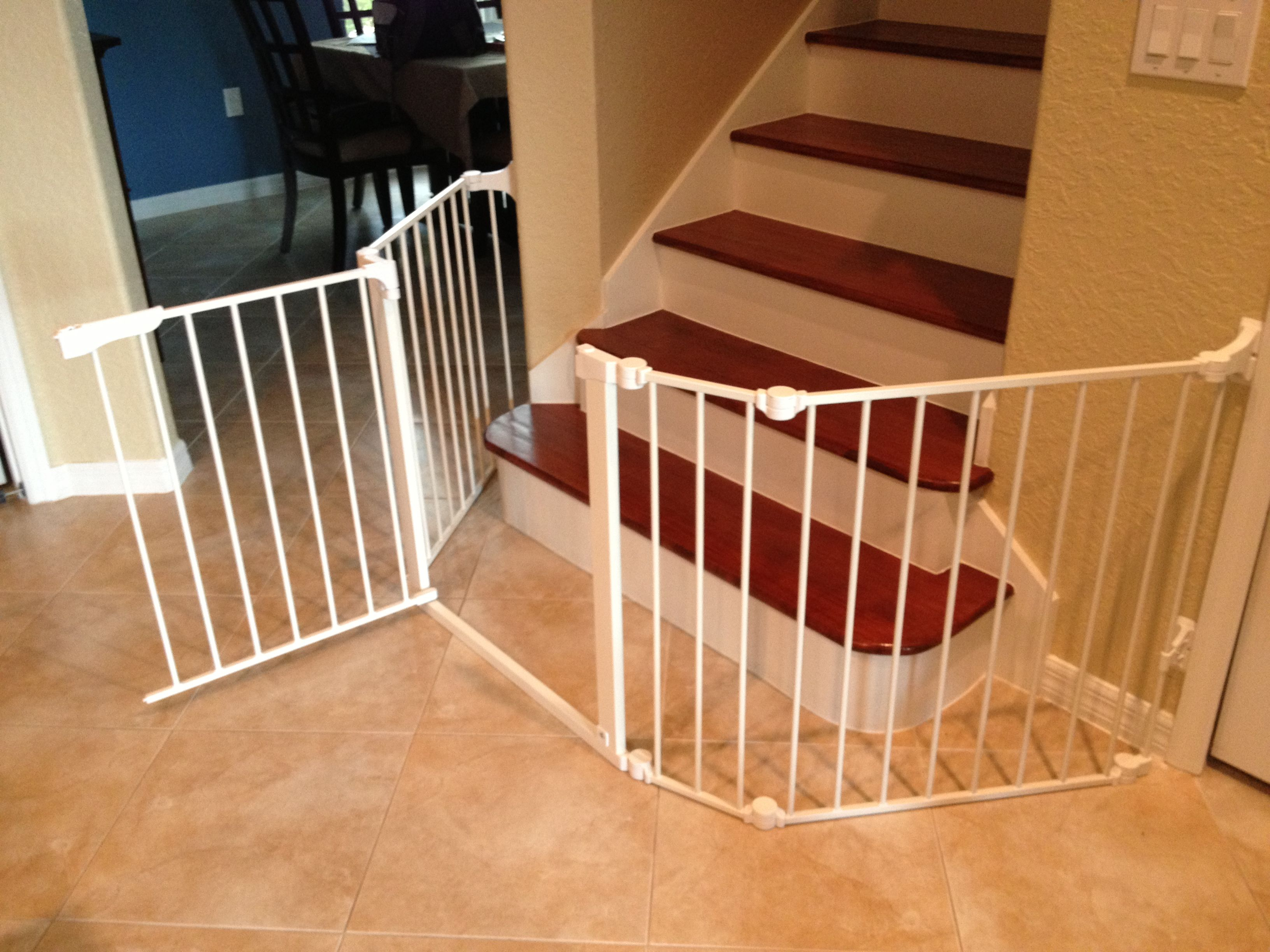 Baby Gate Bottom Of Stairs Baby Gates Baby Gate For Stairs Diy Baby Gate