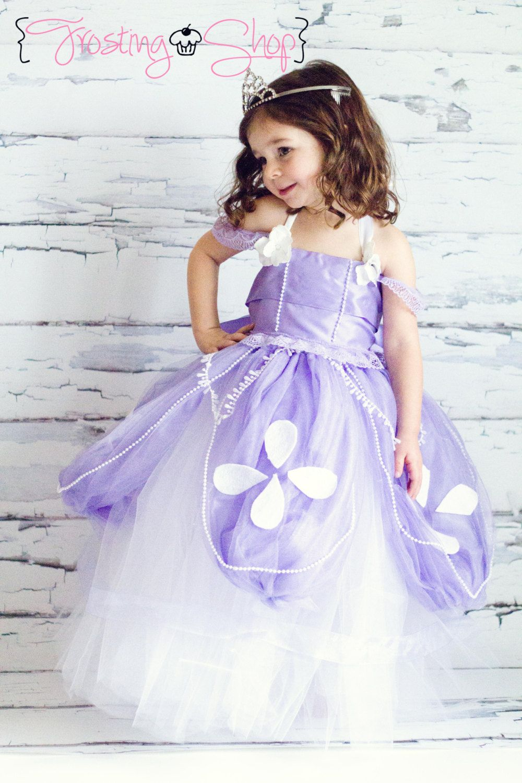989c81e082d2d Sofia The First Tutu Dress Costume | girly party ideas | Princess ...