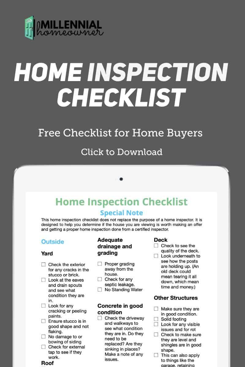 Home Inspection Checklist Are Pdf Printable Inspection Checklist Home Inspection House Hunting Checklist