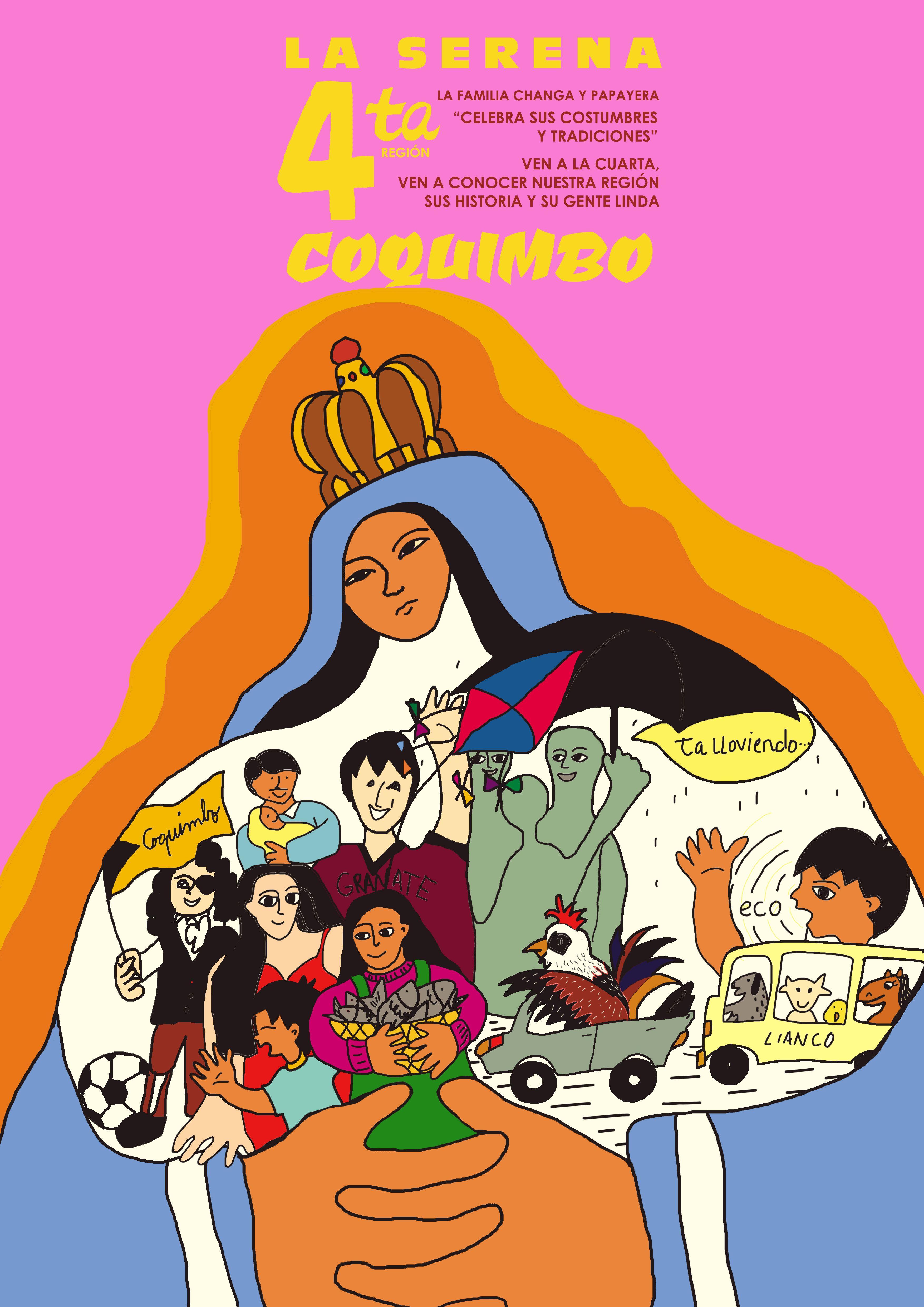 bocetos en homenaje a Waldo González-identidad regional-2016