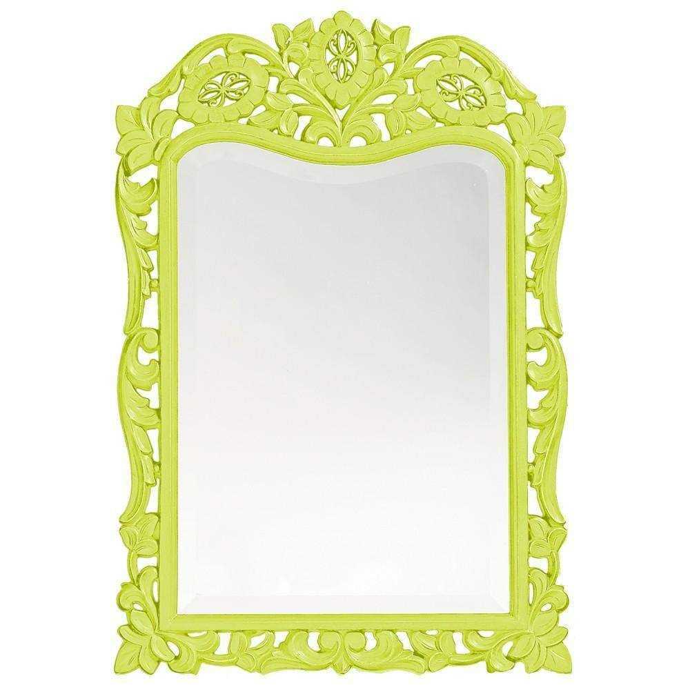 "Howard Elliott St. Agustine Green Mirror 20"" x 29 x .75"""