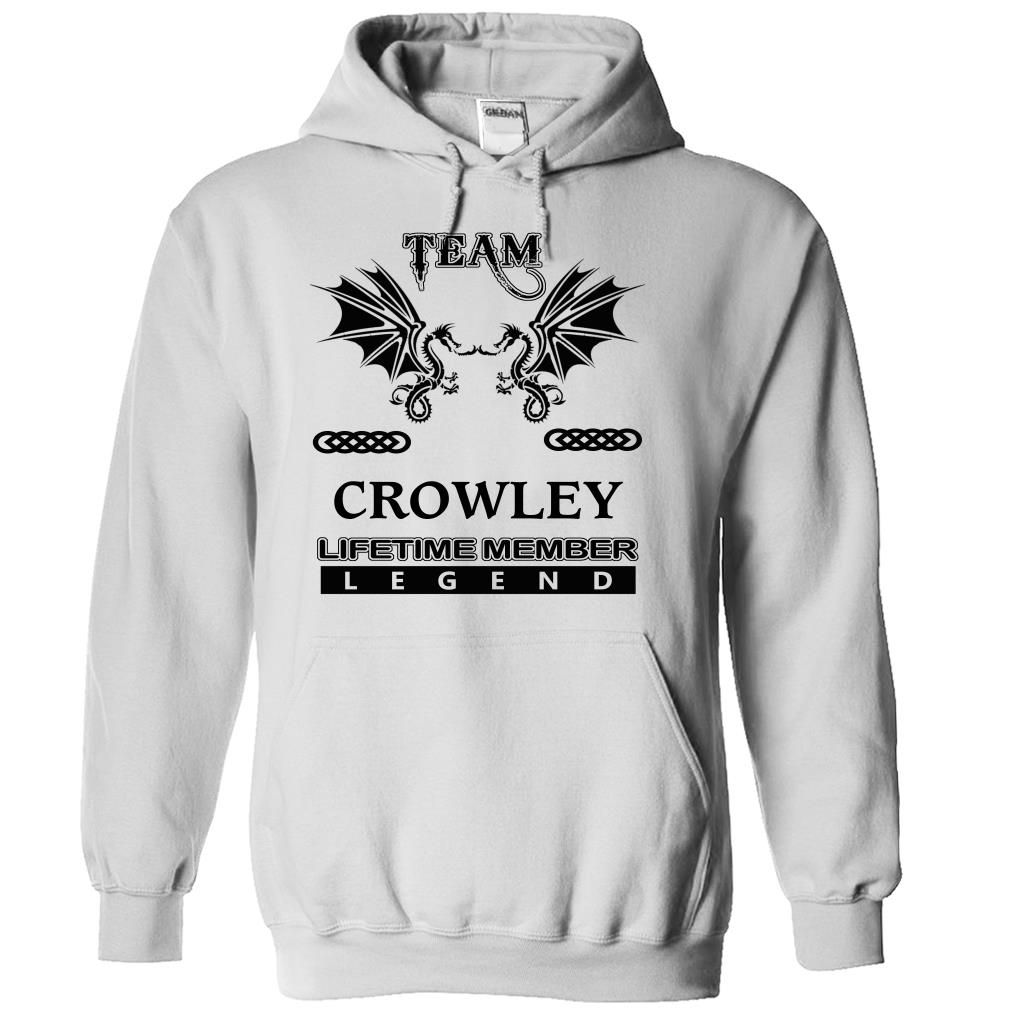 (Tshirt Coupons) TEAM CROWLEY LIFETIME MEMBER LEGEND Best Shirt design Hoodies Tees Shirts