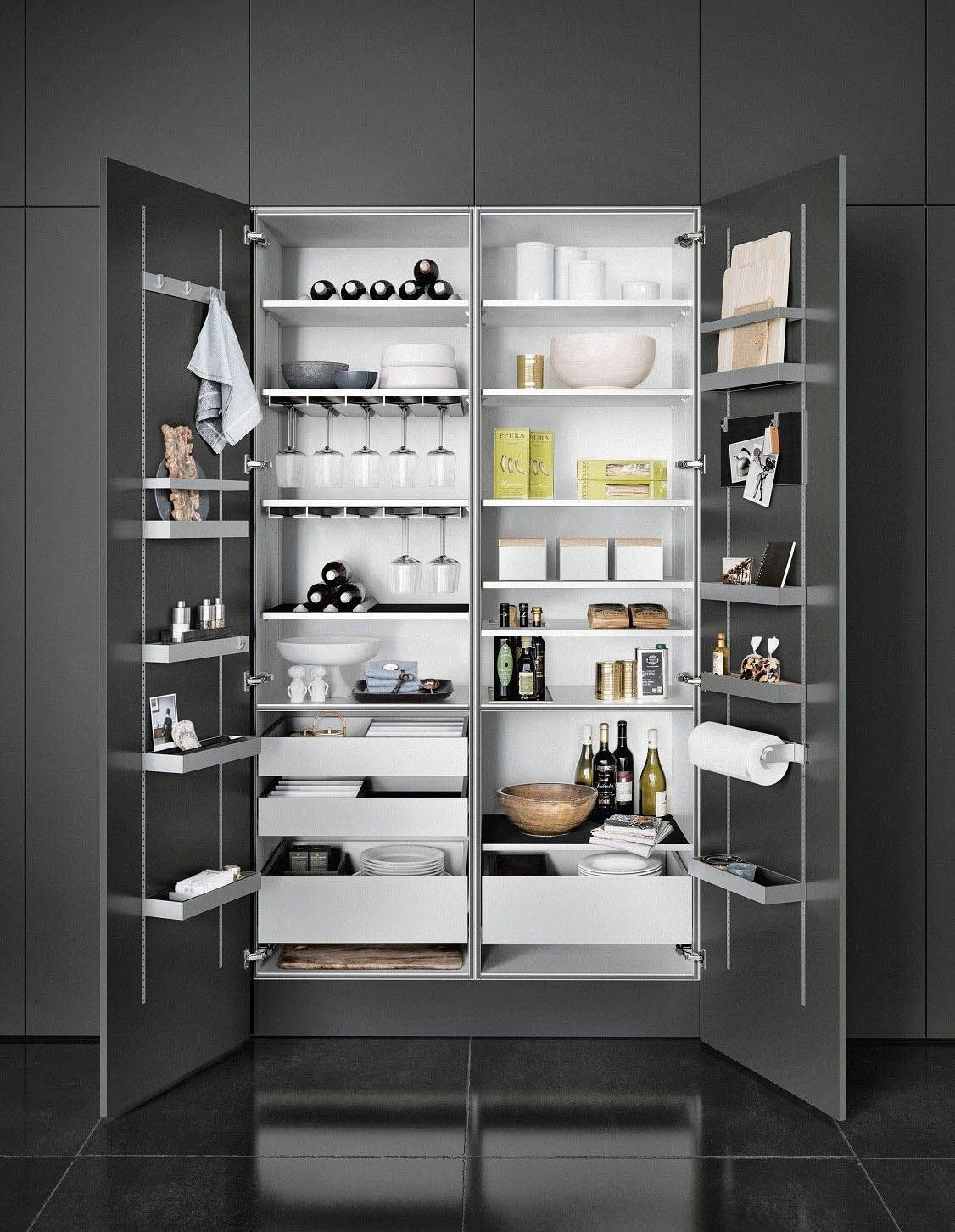 THE LEADING 16 COOKING AREA CUPBOARD IDEAS FOR 2019 #kitchenpantrycabinets Stunning Ideas for a kitchen pantry cabinet width exclusive on homesable home decor #kitchenpantrycabinets