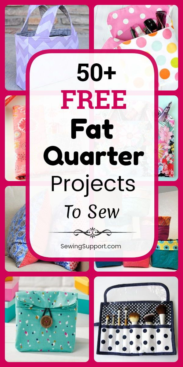 50+ Free Fat Quarter Projects