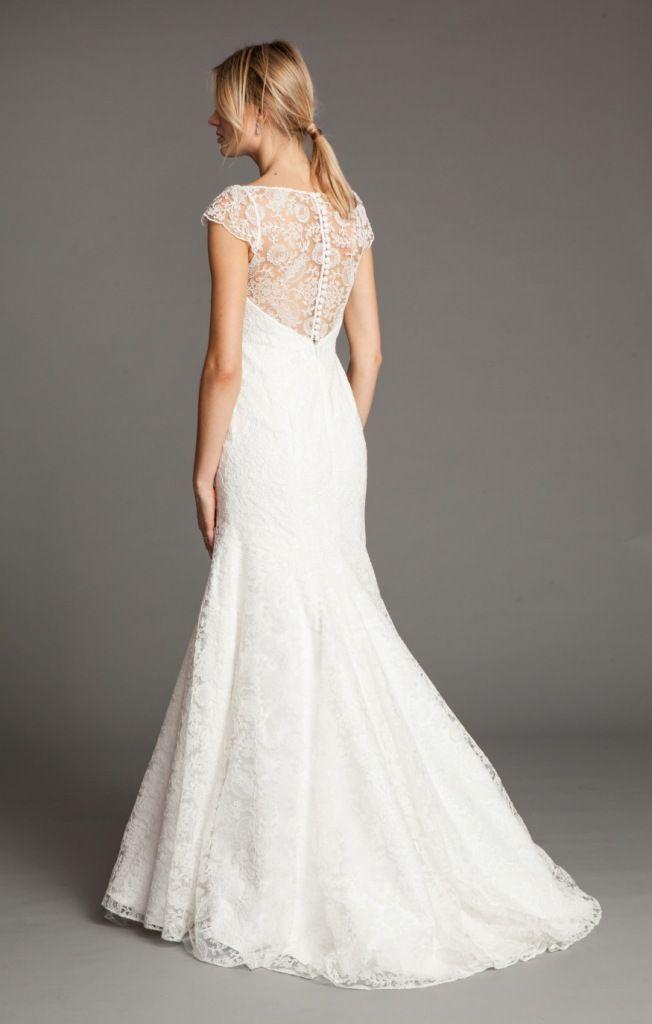 Leila Lace Back Wedding Dress By Jenny Yoo