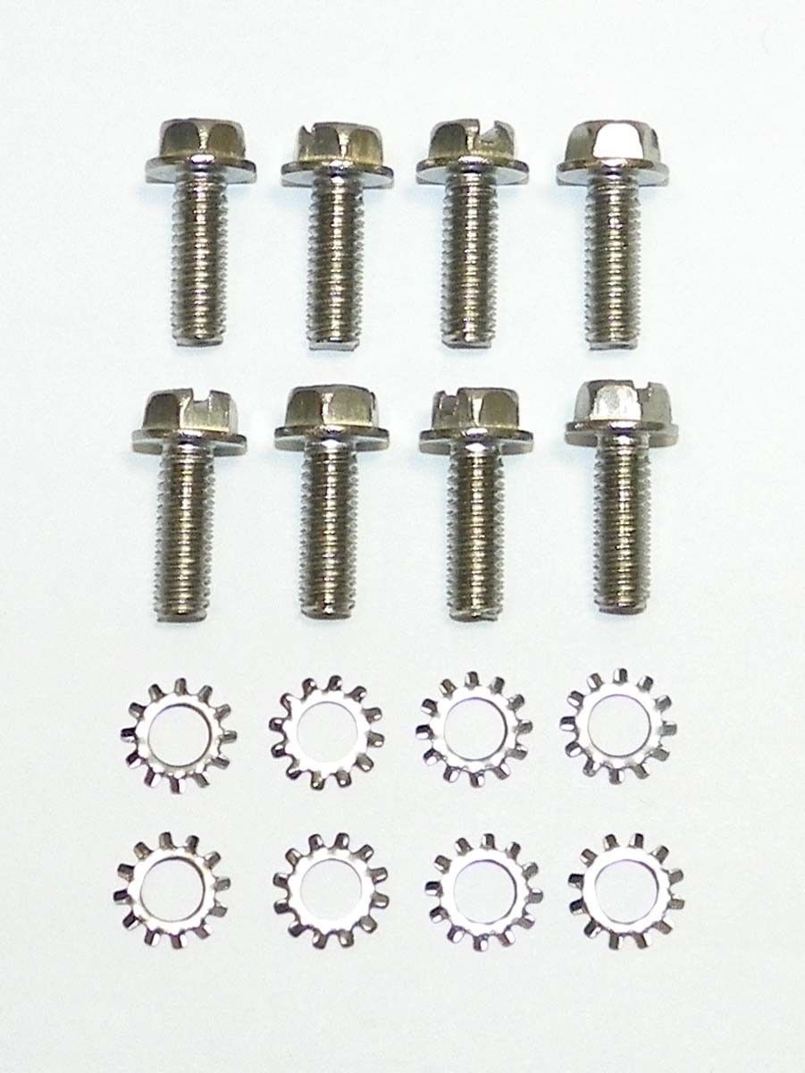 Wsm Johnson Evinrude 85 140 Hp Lower Bearing Cap Bolts 8 Pack 810 110 03099 810 110 03099 Bolt Johnson Water Crafts