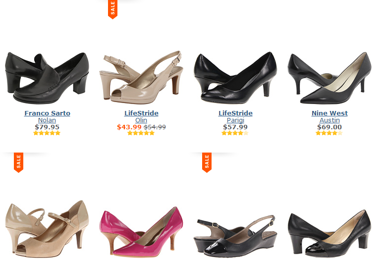 Shoes for work under $100!