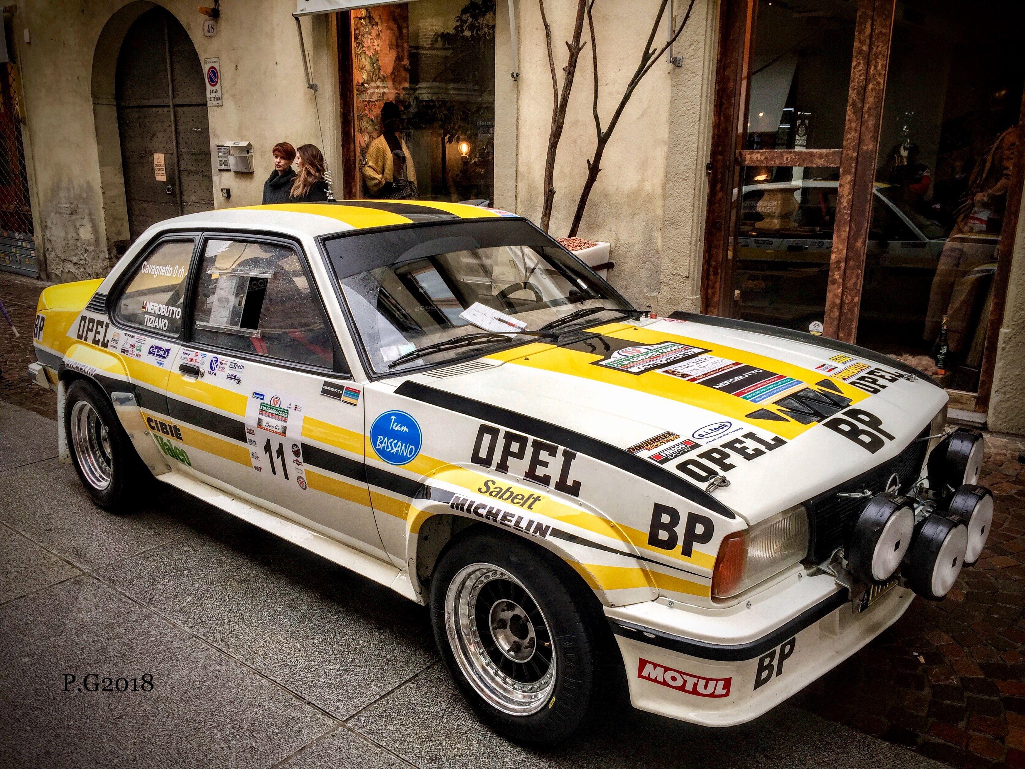ascona 400 rally car