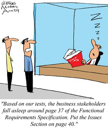 Humor  Cartoon How To Get Approval From The Functional