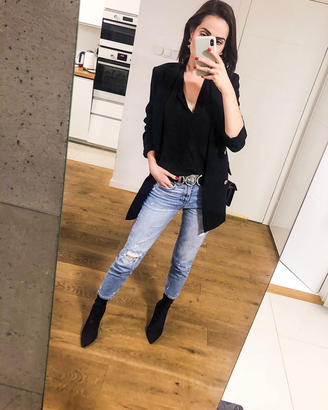 Zophia Osobista Stylistka On Instagram Simple Classic Ootd Outfit Style Outfits Fashion Style