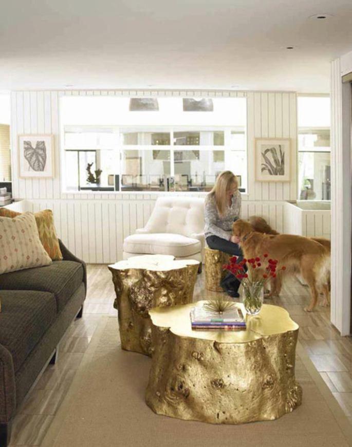 35 Tree Trunk Ideas For A Warm Decor Home Decor Furniture Home