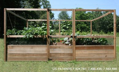 Enclosed Vegetable Garden Design U2013 Deau0027s Home