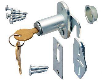 KVM-PB1064-US26D | KV/Sterling Folding Closet Door Lock - Keyed ...
