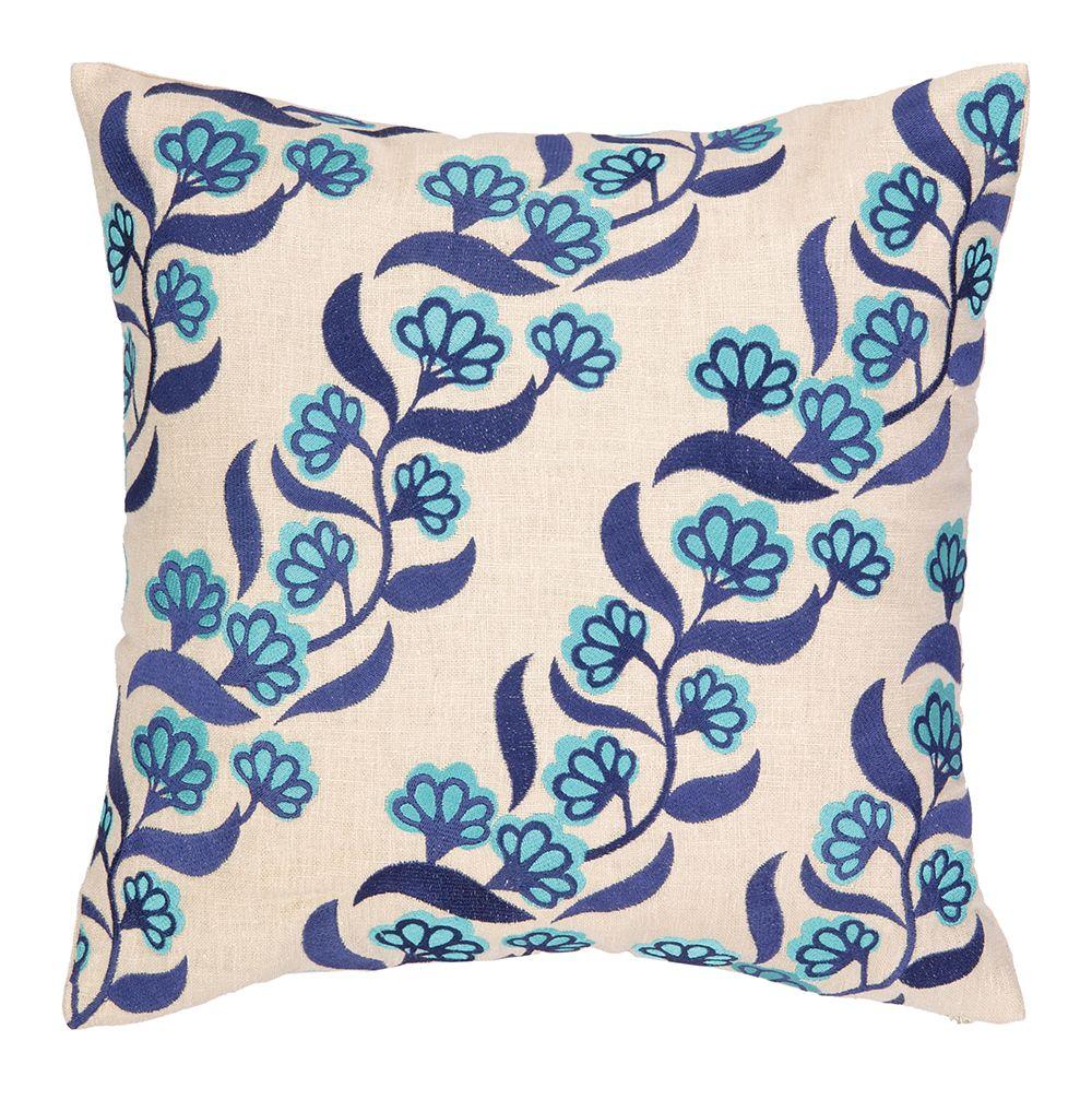 Brejer designed embroidered pillow