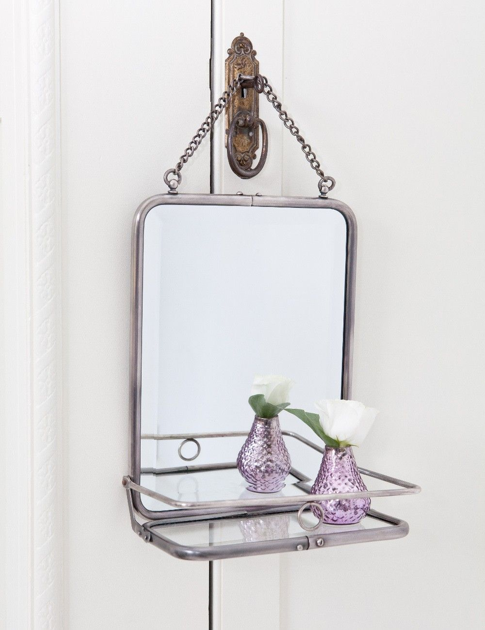 Bathroom Stuff French Style Folding Mirror
