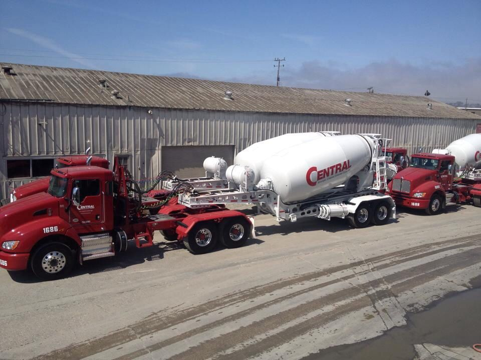 Me worthy pulling slider mixers for Central Concrete. | concrete ...