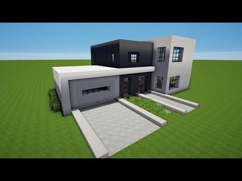 Minecraft Moderne Huser Bauen Top Moderne Hauser Bauen Objekt - Minecraft schones haus bauen youtube