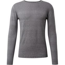 Photo of Tom Tailor Herren Strukturierter Strickpullover mit Streifen, grau, gestreift, Gr.xl Tom TailorTom T