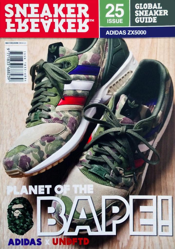 3f2aa6edc01 Sneaker Freaker Magazine Issue   25 Adidas x UNDFTD x Bape