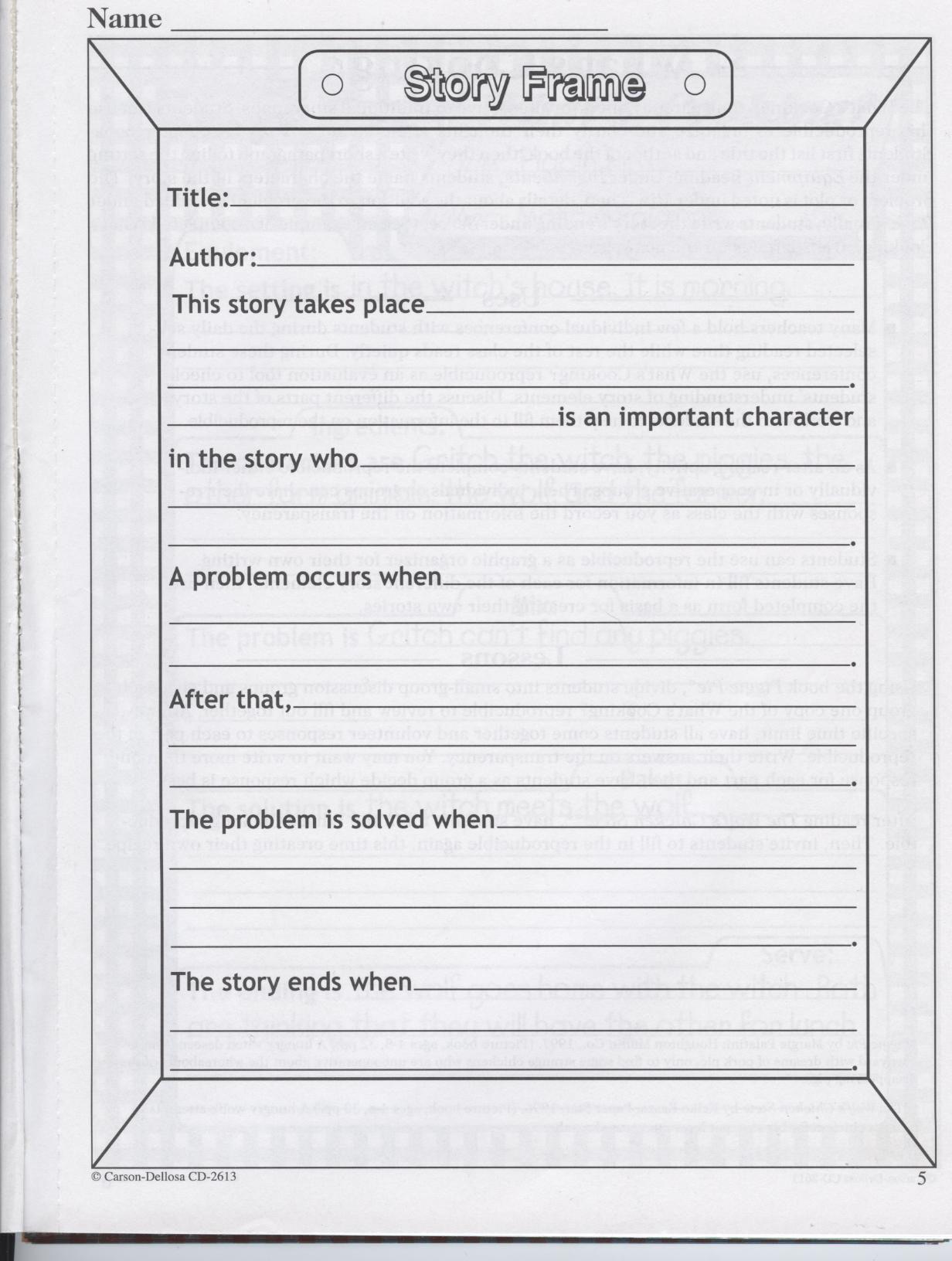 Book Report Stories