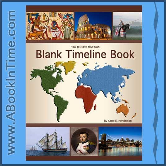 ABookInTime lists Great Reading Books, Crafts, Games - blank timeline
