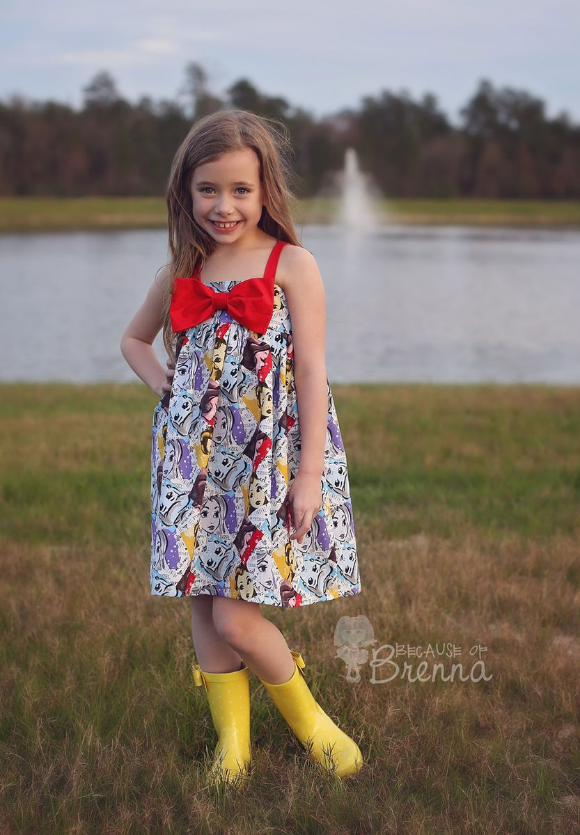 Dress made by Because of Brenna; Pattern by Create Kids Couture ...