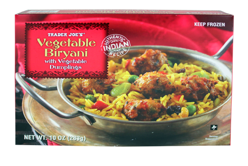 Trader Joe S Biryani W Vegetable Dumplings Vegetable Dumplings Biryani Biryani Vegetable