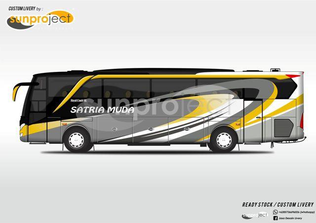 Design Custom Livery For More Information 62857 3669 6026 Whatsapp Bus Wrap Bus Coach Bus Games
