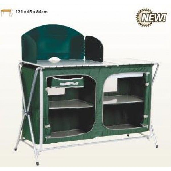 OZtrail Camp Kitchen Deluxe with Sink | Camping and all | Pinterest ...